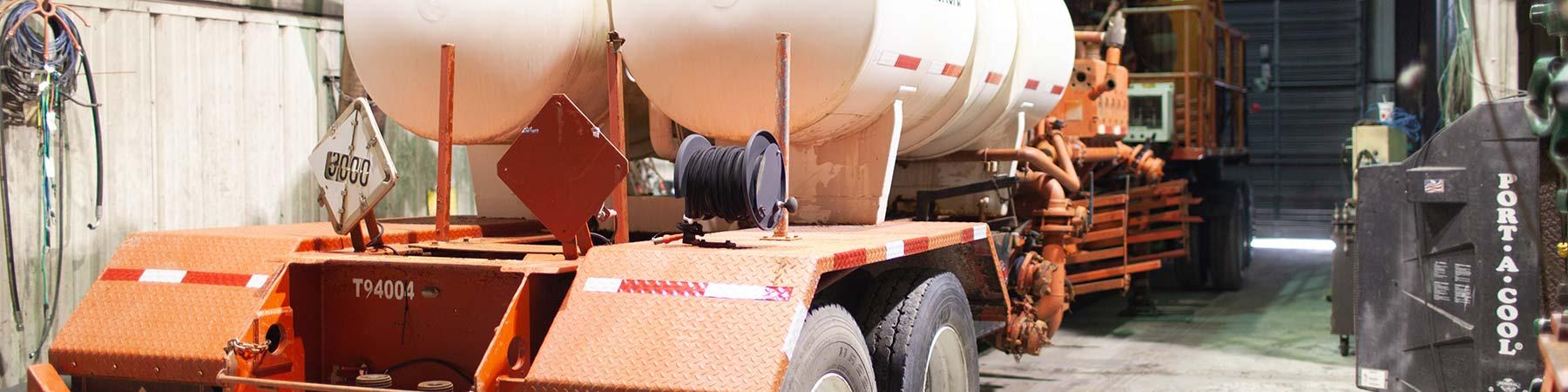 fleet service of tulsa oilfield test pit equipment